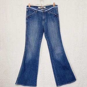 Gap*Low Rise Stretch Flare Jeans*Sz 8*E